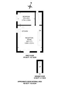 Large floorplan for Ashton Close, West Sutton, SM1