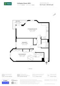 Large floorplan for Collington Street, Greenwich, SE10