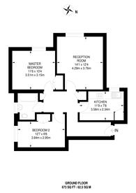 Large floorplan for Chelsea Close, Harlesden, NW10