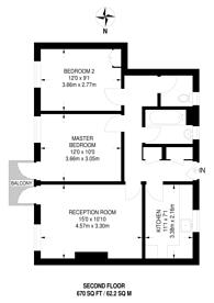 Large floorplan for Beckenham Hill, BR3, Beckenham Hill, BR3