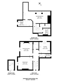Large floorplan for Morpeth Street, Bethnal Green, E2