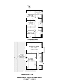 Large floorplan for Redriff Road, Canada Water, SE16
