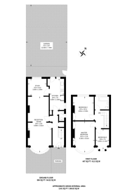 Large floorplan for Tanfield Avenue, Neasden, NW2