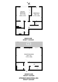 Large floorplan for Hardwicks Square, Wandsworth, SW18