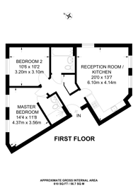 Large floorplan for Mackintosh Street, Bromley, BR2