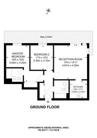 Large floorplan for Spa Road, SE16, Bermondsey, SE16