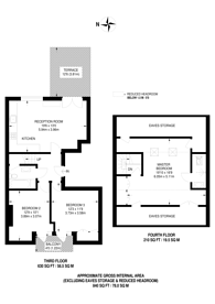 Large floorplan for Warrington Crescent, Little Venice, W9