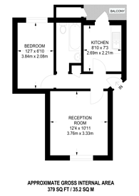 Large floorplan for Hardinge Street, E1, Shadwell, E1