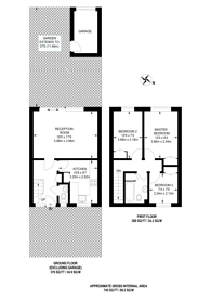 Large floorplan for Baring Road, Grove Park, SE12