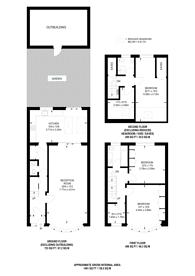 Large floorplan for Wilmot Road, Tottenham, N17