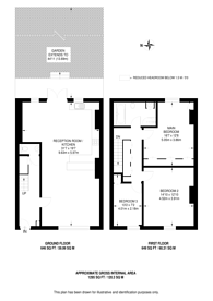 Large floorplan for Manor Park, Hither Green, SE13