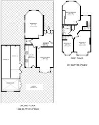Large floorplan for Baker Street, Enfield, EN1
