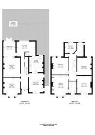 Large floorplan for Selborne Road, Southgate, N14