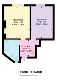Large floorplan for Dalmeny Court, St James's, SW1Y