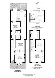 Large floorplan for Inwood Road, Hounslow, TW3