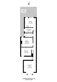 Large floorplan for Bramston Road, Willesden, NW10