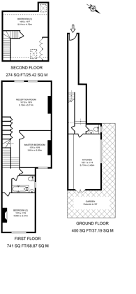 Large floorplan for College Road, Kensal Rise, NW10