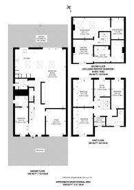 Large floorplan for Cranleigh Road, Merton, SW19