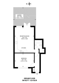 Large floorplan for Applegarth Avenue, Guildford, GU2