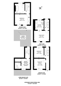 Large floorplan for Buttesland Street, Hoxton, N1