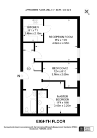 Large floorplan for High Street, Hounslow, TW3
