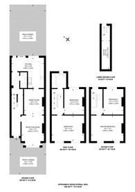 Large floorplan for Romilly Road, Islington, N4