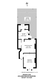 Large floorplan for Hampton Road, Worcester Park, KT4