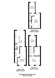 Large floorplan for Waverley Road, Walthamstow, E17