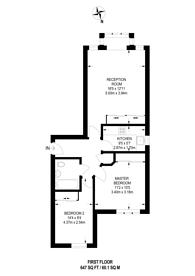 Large floorplan for Burnham Gate, Guildford, GU1