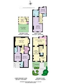 Large floorplan for Pelham Street, South Kensington, SW7