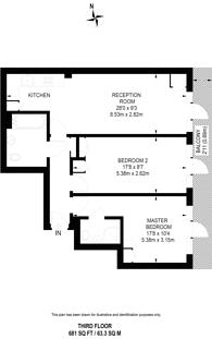 Large floorplan for Old Street, Shoreditch, EC1V