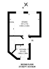 Large floorplan for Kings Cross Road, Clerkenwell, WC1X
