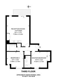 Large floorplan for Pump House Crescent, Hackbridge, TW8
