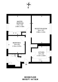 Large floorplan for St. Albans Avenue, Bedford Park, W4
