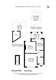 Large floorplan for Brendon Avenue, Neasden, NW10