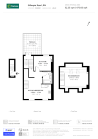 Large floorplan for Gillespie Road, Arsenal, N5