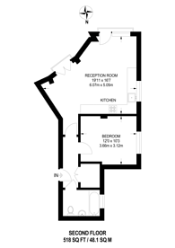 Large floorplan for Chapel Yard, Wandsworth, SW18