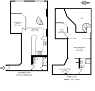 Large floorplan for Fairfield Road, Bow, E3