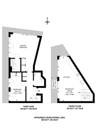Large floorplan for Coronet Street, Shoreditch, N1