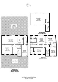 Large floorplan for Seymour Road, Wimbledon, SW19