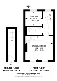 Large floorplan for Acton Lane, Acton, W4