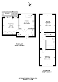 Large floorplan for St Giles High Street, WC2H, Covent Garden, WC2H