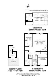 Large floorplan for Penywern Road, Earls Court, SW5