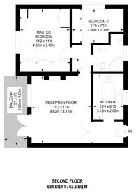 Large floorplan for Royston Court, Wanstead, IG1