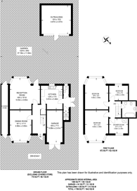 Large floorplan for Chiltern Road, Sutton, SM2