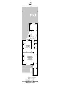 Large floorplan for Medfield Street, Putney Heath, SW15