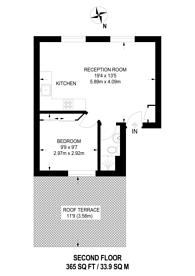 Large floorplan for Holloway Road, Holloway, N19