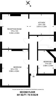 Large floorplan for Duncan Terrace, Angel, N1