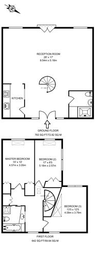 Large floorplan for Chilton Street, Shoreditch, E2