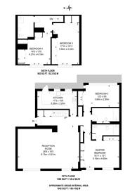 Large floorplan for The Quadrangle, Hyde Park Estate, W2